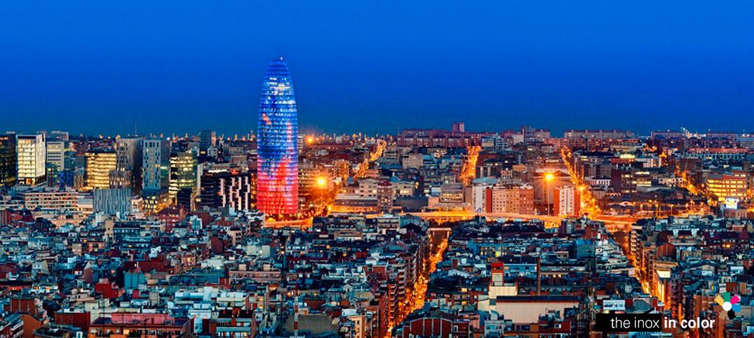Torre Agbar · Barcelona