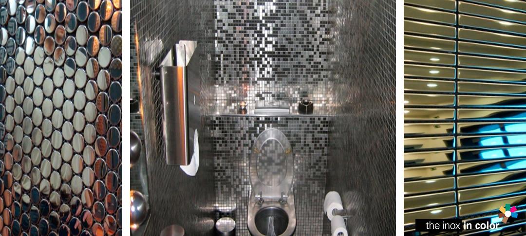 Mosaicos Acero Inoxidable