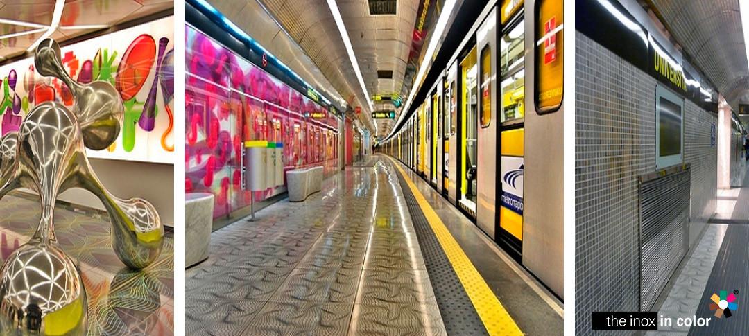 Stazione Università, Linea 1 · Napoli