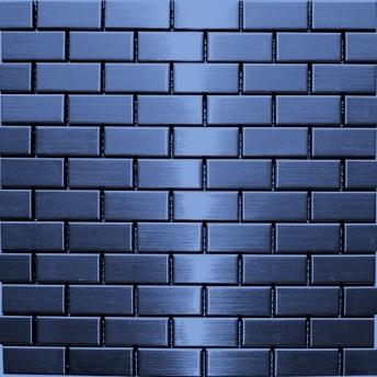 Mosaico Azul Brick Satinado 48x23