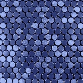 Mosaico Azul Circle Satinado 20