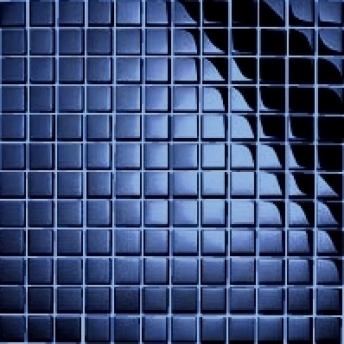 Mosaico Azul Square Brillante 15x15