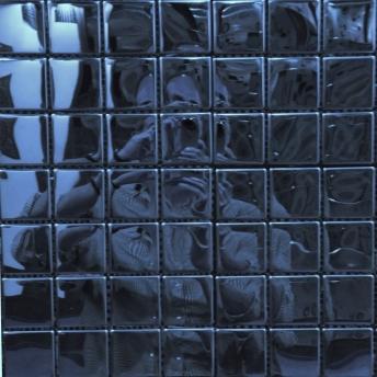 Mosaico Azul Square Brillante 25x25