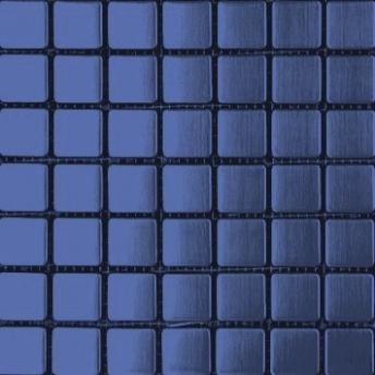 Mosaico Azul Square Satinado 20x20