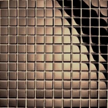 Mosaico Bronce Square Brillante 15x15