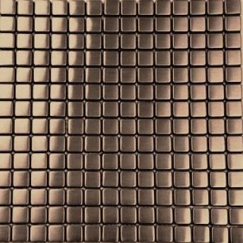 Mosaico Bronce Square Satinado 15x15