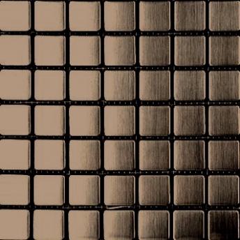 Mosaico Bronce Square Satinado 20x20