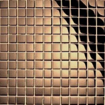 Mosaico Cobre Square Brillante 15x15