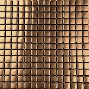 Mosaico Cobre Square Satinado 15x15