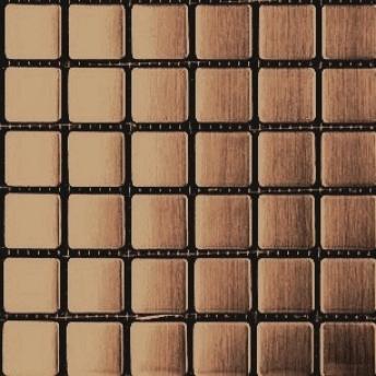 Mosaico Cobre Square Satinado 20x20
