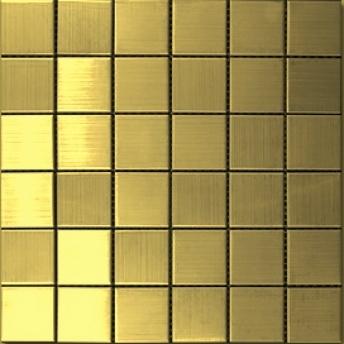 Mosaico Dorado Big Square 30x30