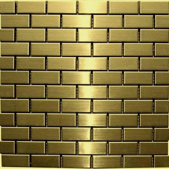 Mosaico Dorado Brick Satinado 48x23