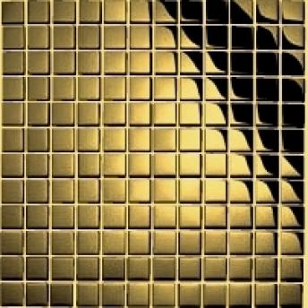 Mosaico Dorado Square Brillante 15x15