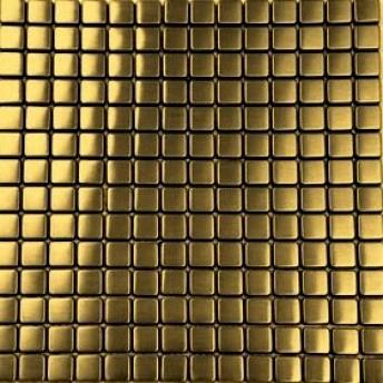 Mosaico Dorado Square Satinado 15x15