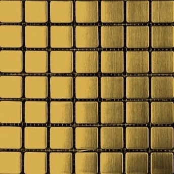Mosaico Dorado Square Satinado 20x20