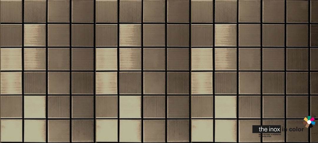 Bronze Stainless Steel Mosaics