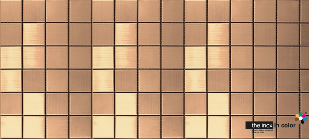 Copper Stainless Steel Mosaics