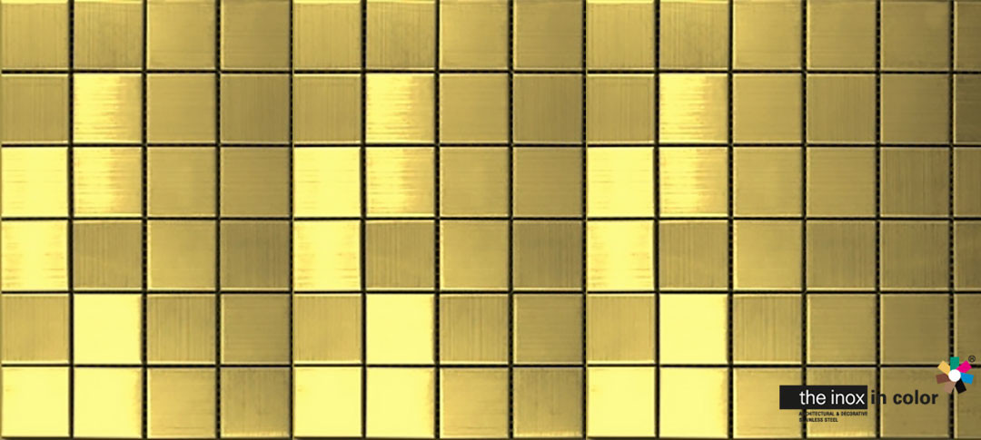 Golden Stainless Steel Mosaics