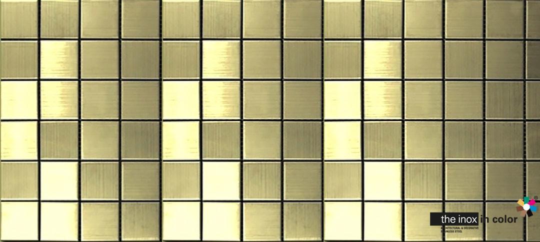 Brass Stainless Steel Mosaics