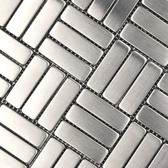 Stainless steel tile