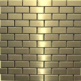 Mosaico Laton Brick Satinado 48x23