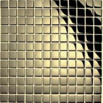 Mosaico Laton Square Brillante 15x15