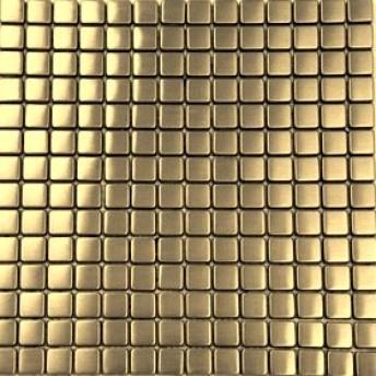 Mosaico Laton Square Satinado 15x15