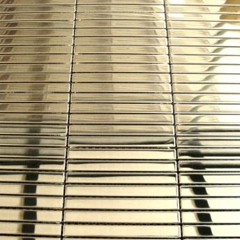 Mosaico Laton Strap Brillante 100x10