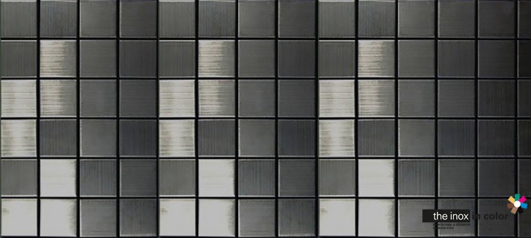 Black Stainless Steel Mosaics